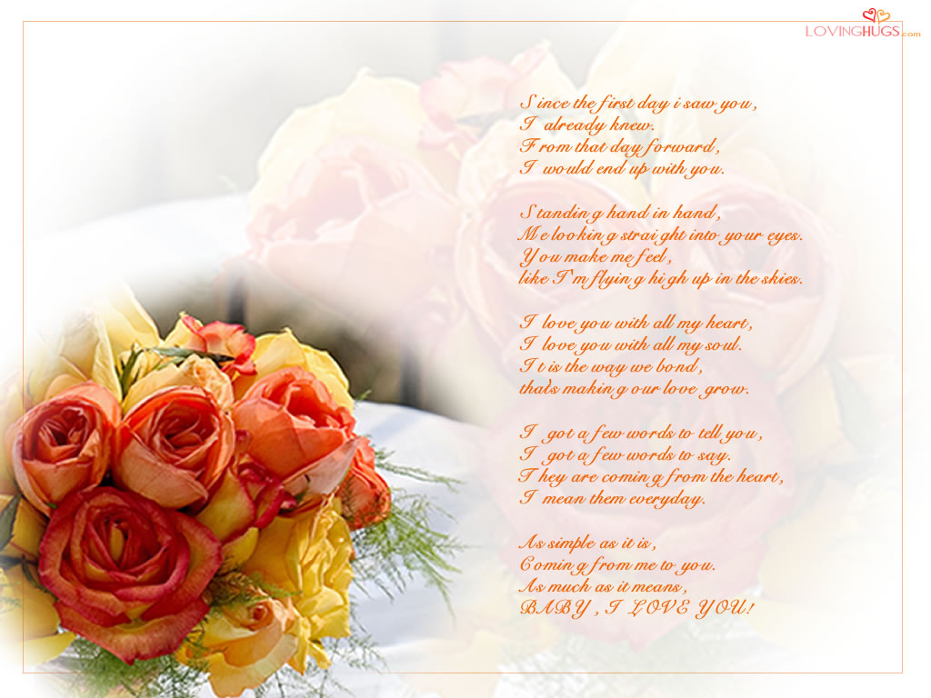 poem wallpaper i love you wallpapers i love you wallpaper poetry 1024x768