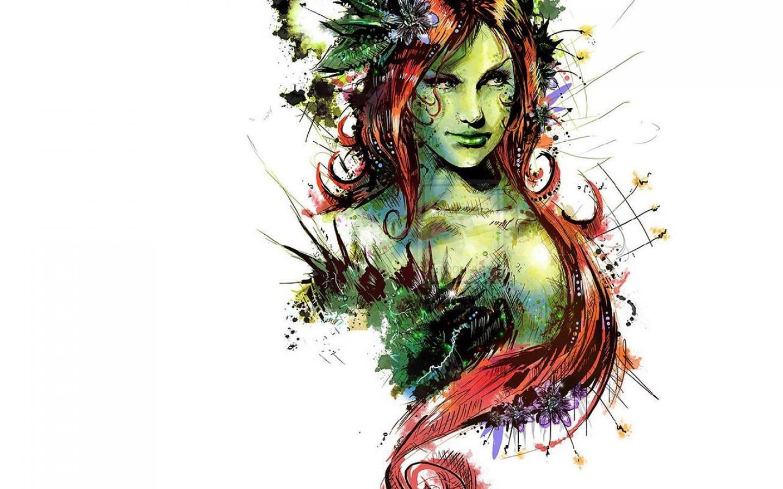 Sexy Poison Ivy Wallpaper - Wallpapersafari-7611