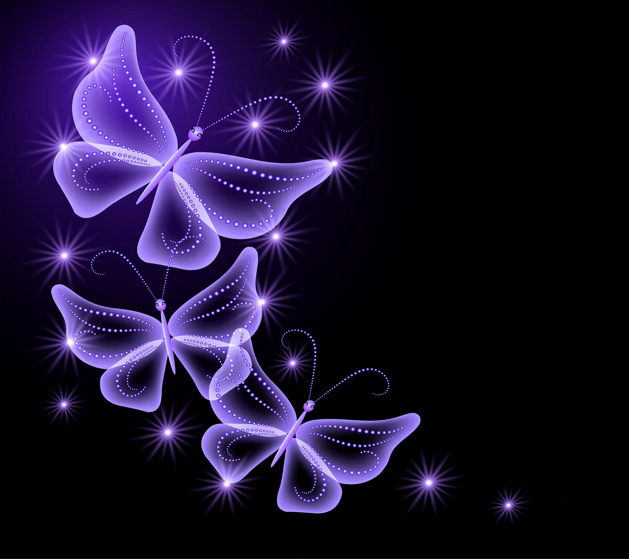 Purple Butterfly Backgrounds - WallpaperSafari