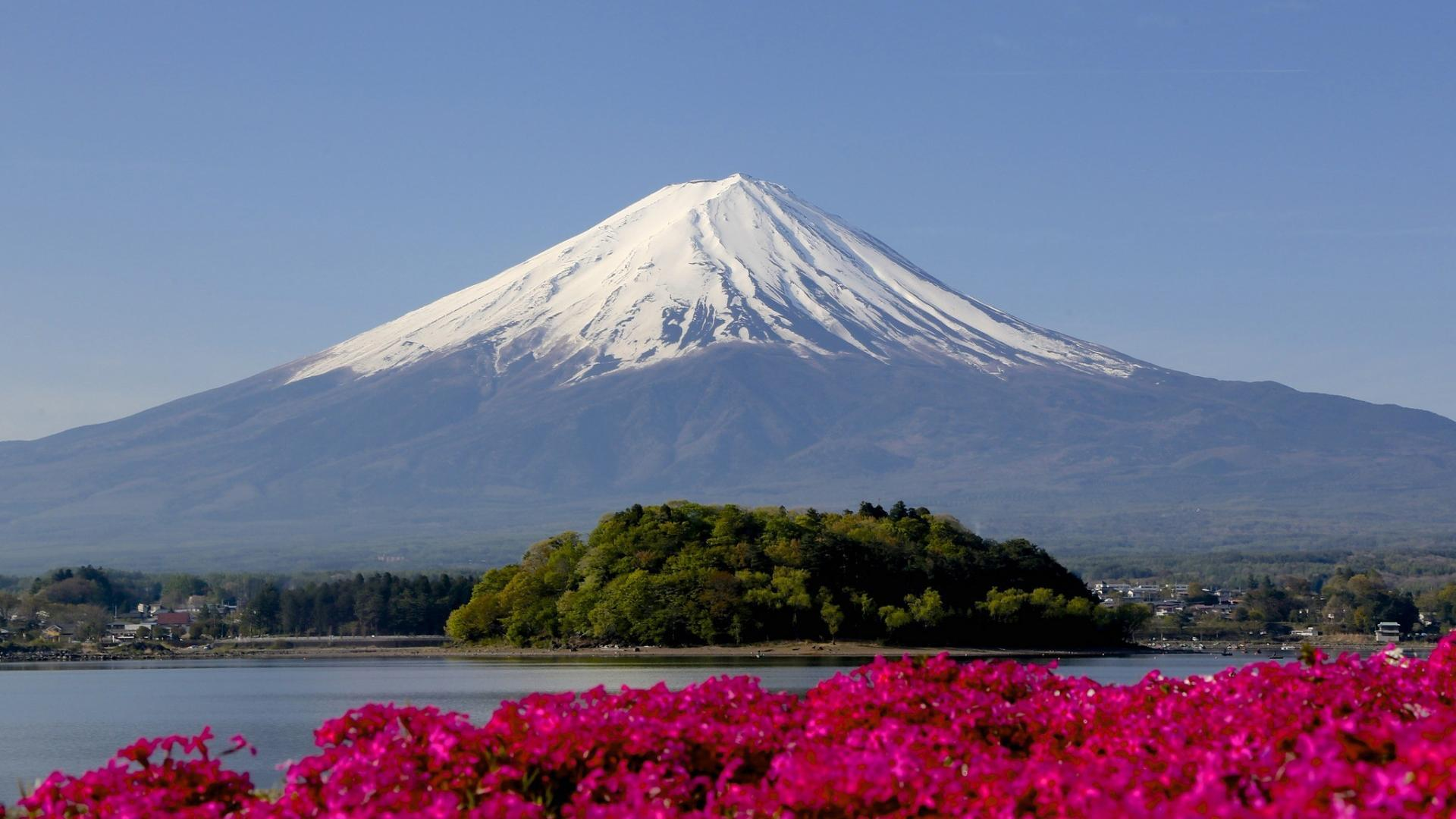 Japan mount fuji mt landscapes mountains wallpaper 64403 1920x1080