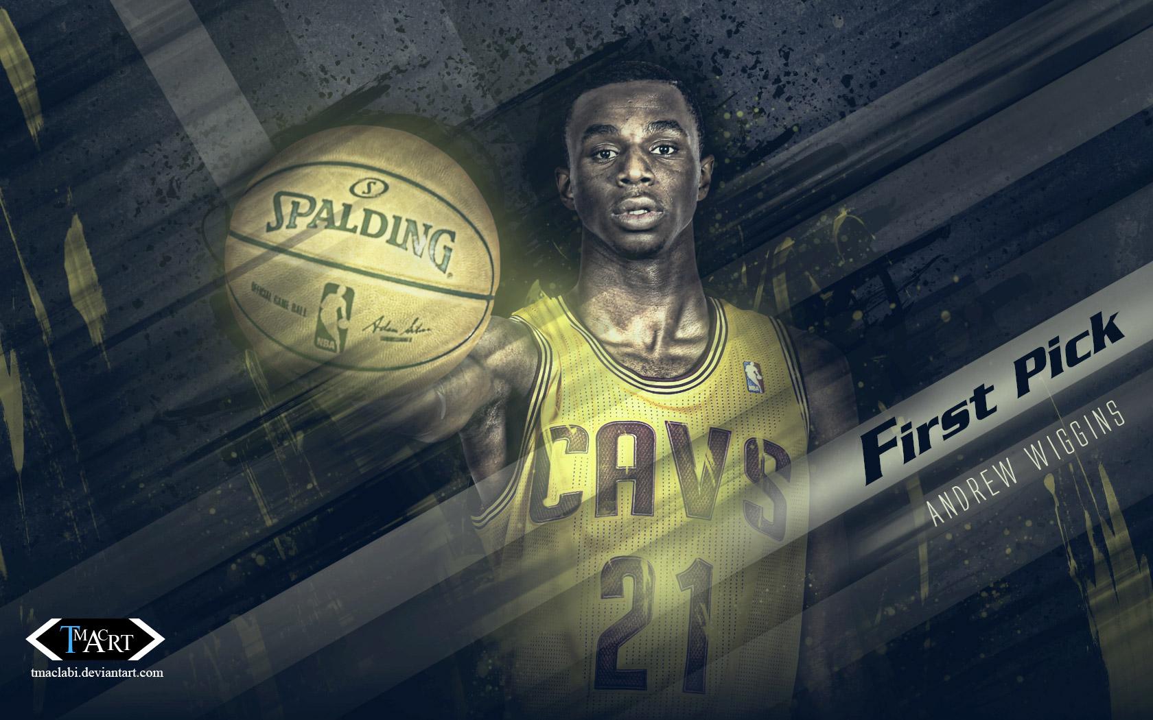 Andrew Wiggins Cavs First Pick 2014 Wallpaper Basketball 1680x1050