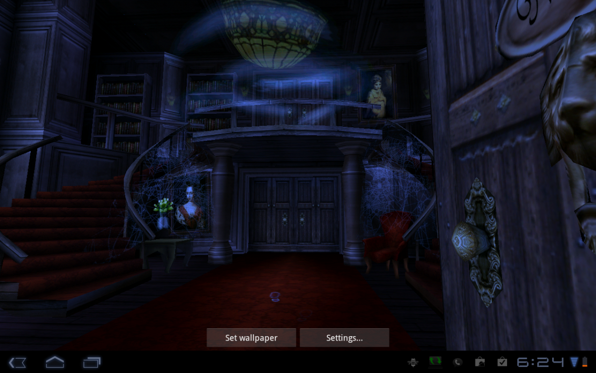 Android Wallpaper Review Haunted House HD Android Central 1200x750