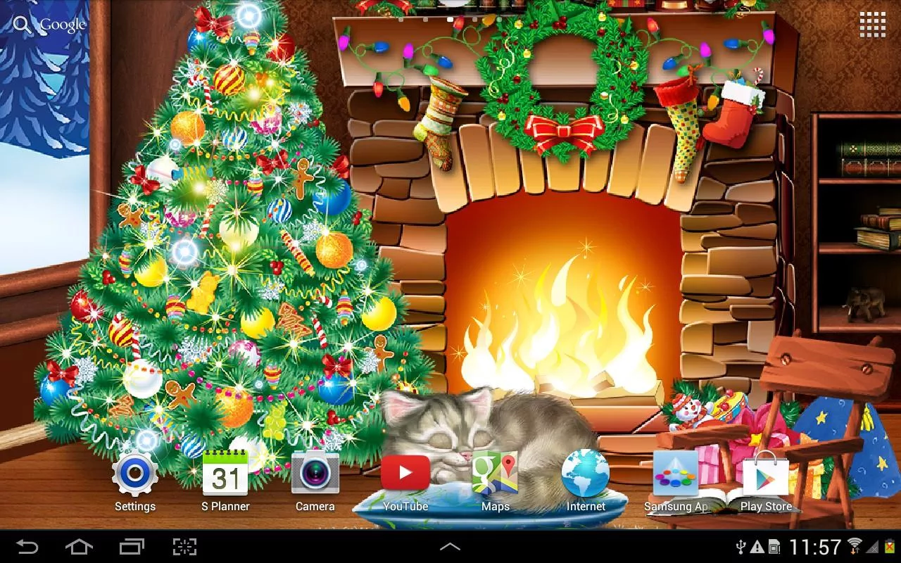 Best Christmas Live Wallpapers For Android ISozial 1280x800