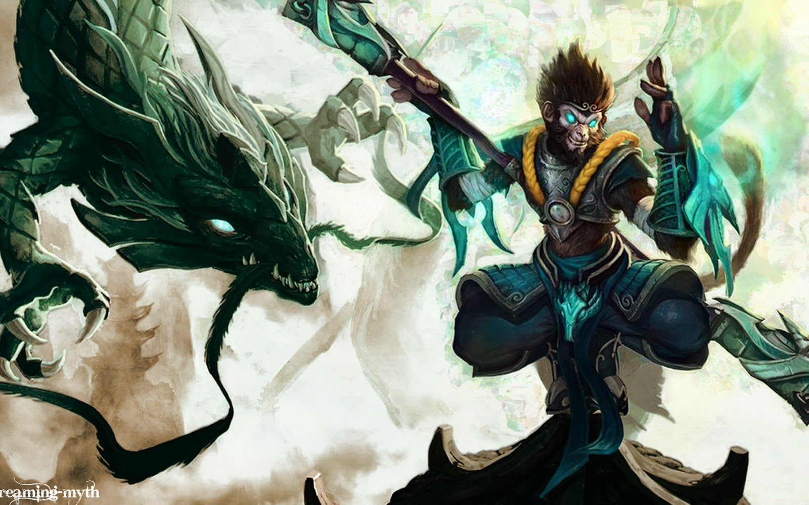 Wukong Desktop Backgrounds Wukong LOL Champion Wallpapers 1600x1000