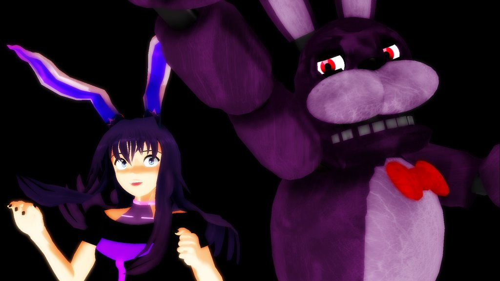 FNaF Bonnie Wallpaper by InfernoZtorm 1024x576