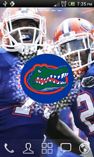 View bigger   Florida Gators Live Wallpaper for Android screenshot 307x512