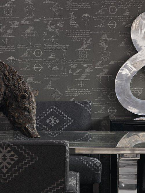 Andrew Martin Pythagoras Wallpaper Alexander Interiors 500x665
