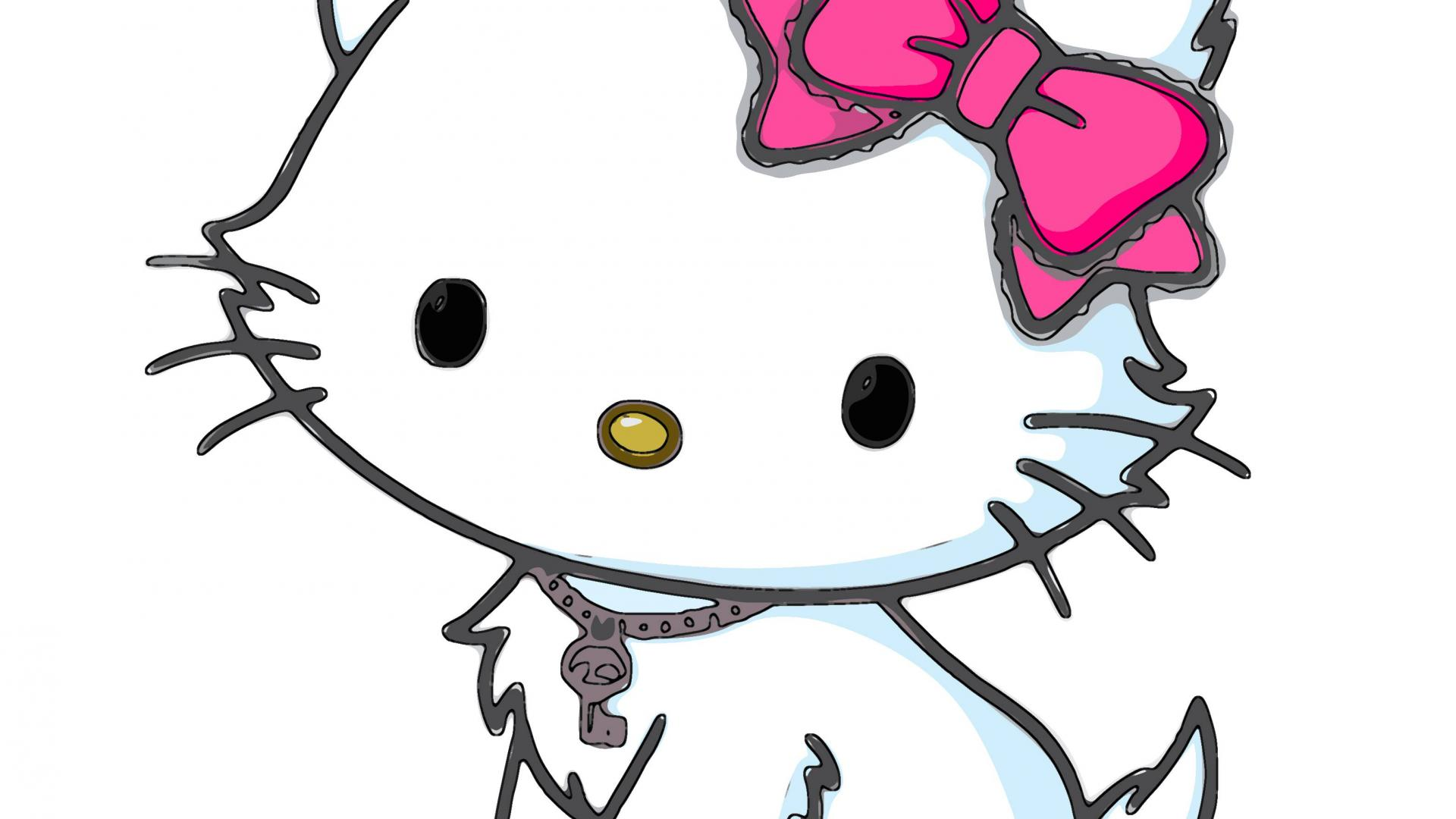 Hello Kitty Wallpaper Hd   Cute Drawing Hello Kitty 322526   HD 1920x1080