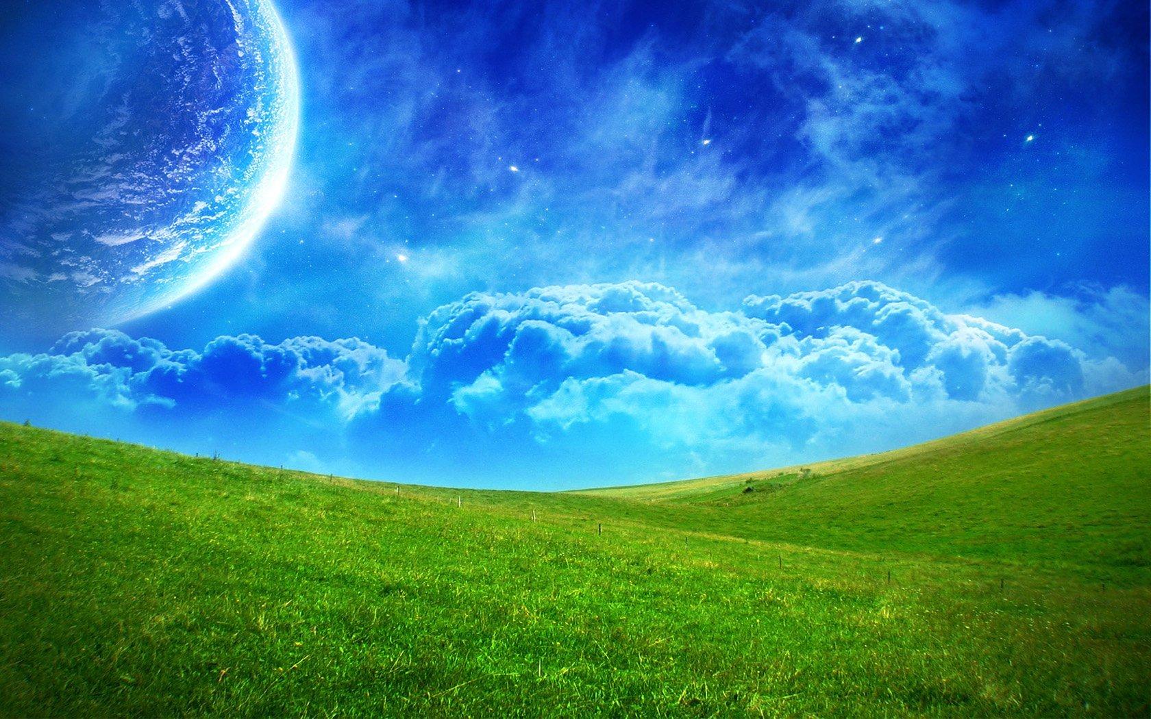 Grassland Background