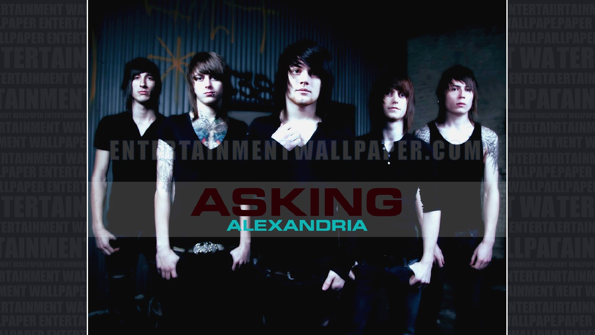 asking alexandria wallpaper hd lilzeu tattoo de picture 1920x1080