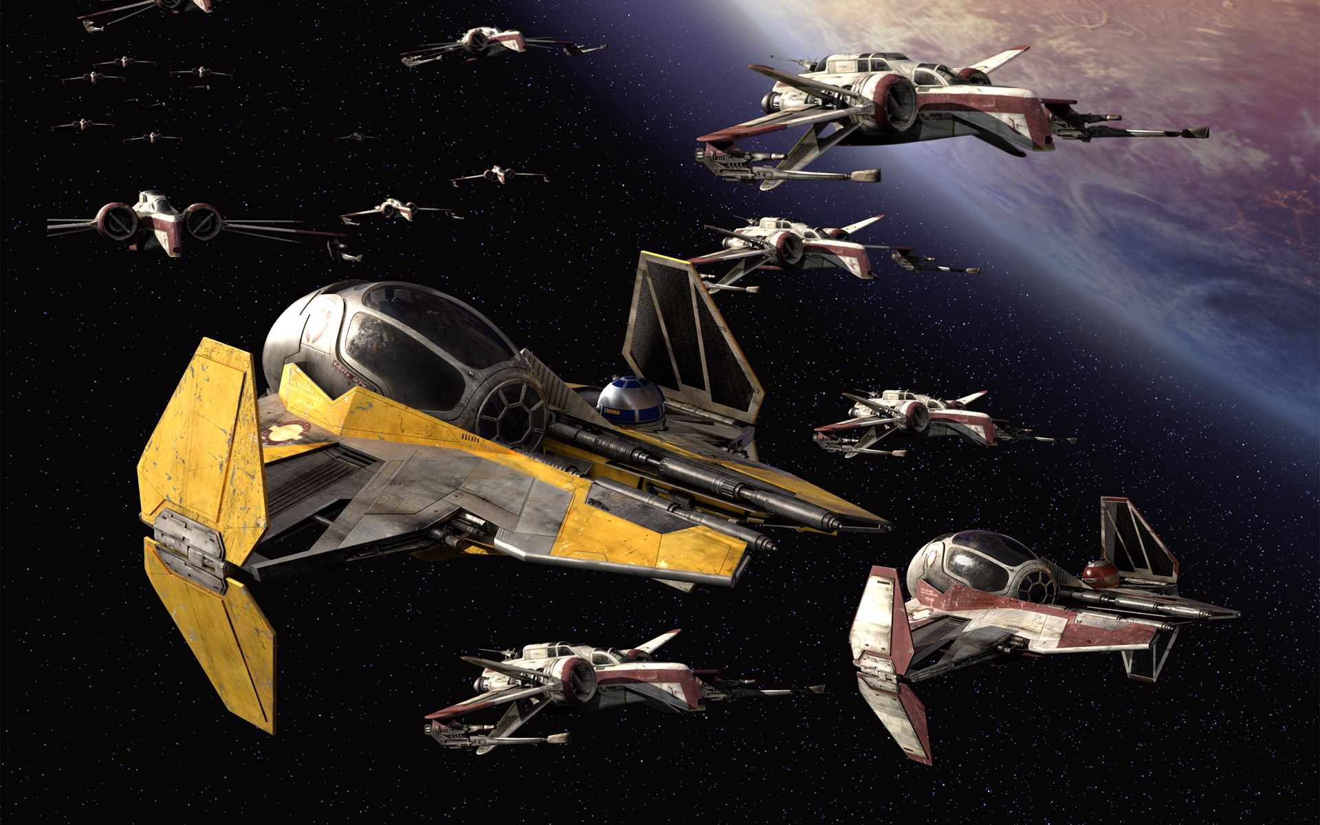 Largest Collection of Star Wars Wallpapers For Download 1920x1200