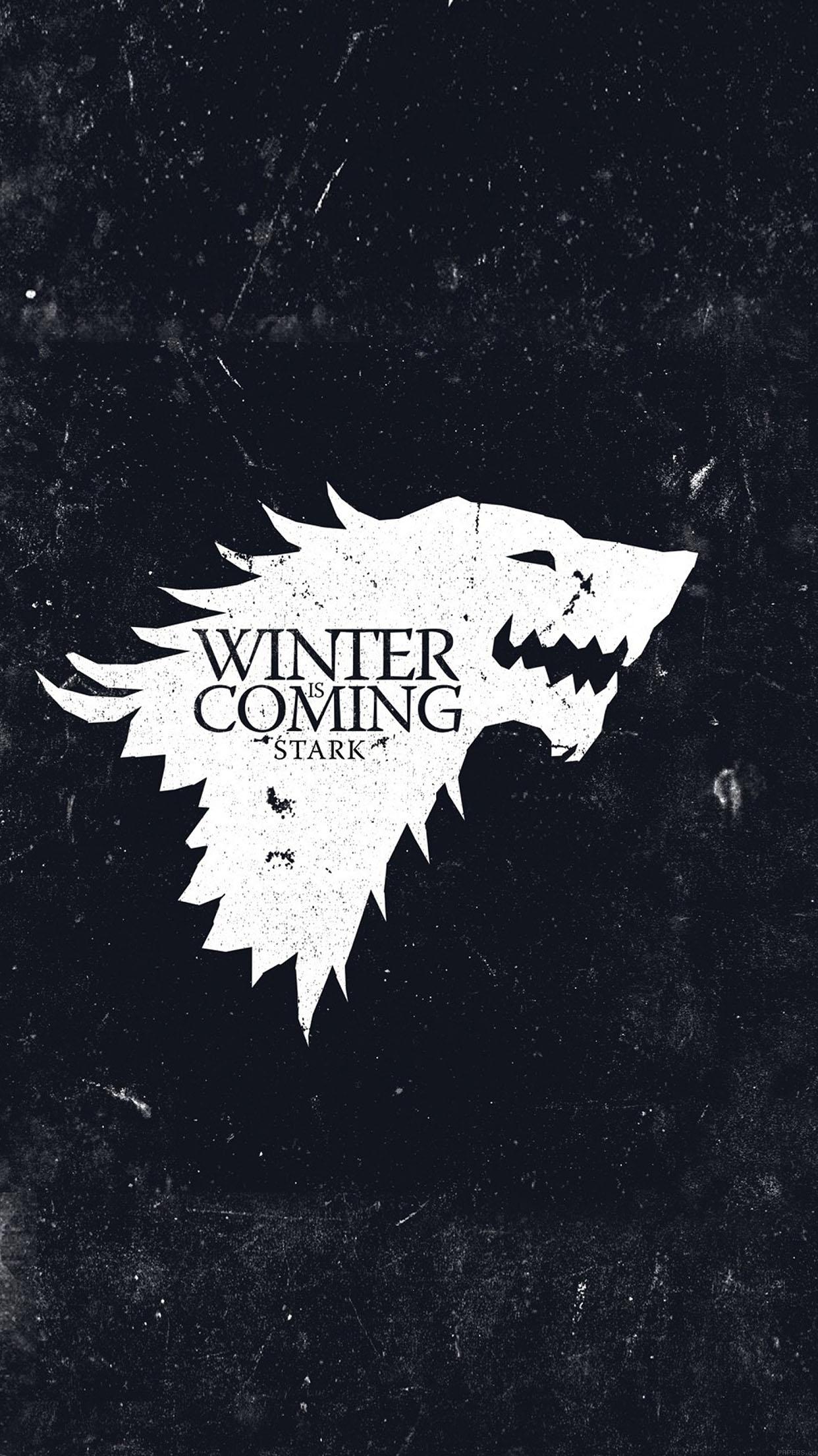 wallpaper game of thrones winter is coming 34 iphone6 plus wallpaper 1242x2208
