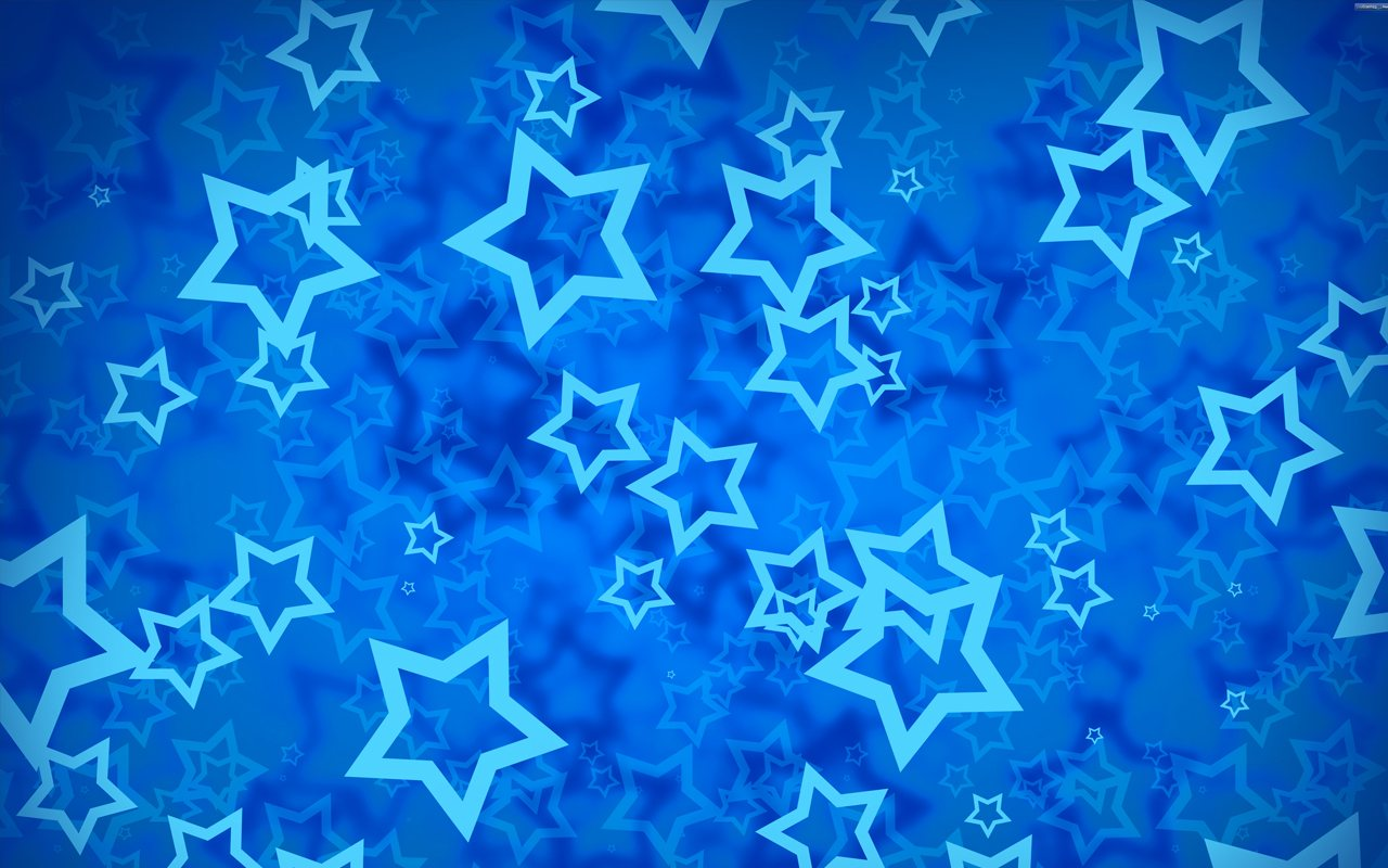 Estrellas Celestes Fondo Azul Blue Background Stars wallpaper 1280x800