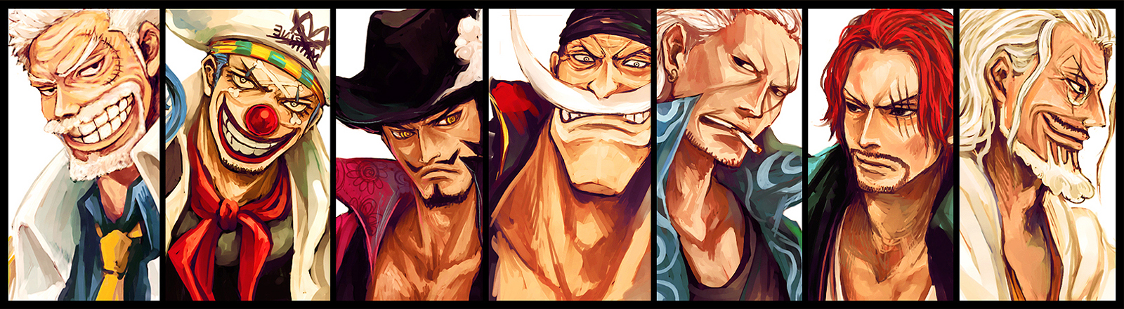 Shanks Wallpaper One Piece Onepiecefull432781 1600x440