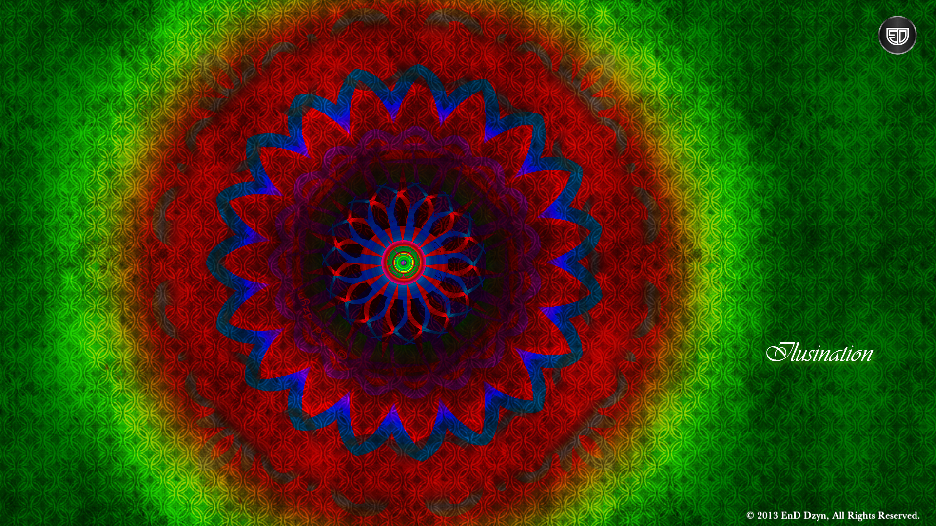 Design Illusination Abstract HD Wallpaper Backgrounds   EnD Dzyn 1920x1080