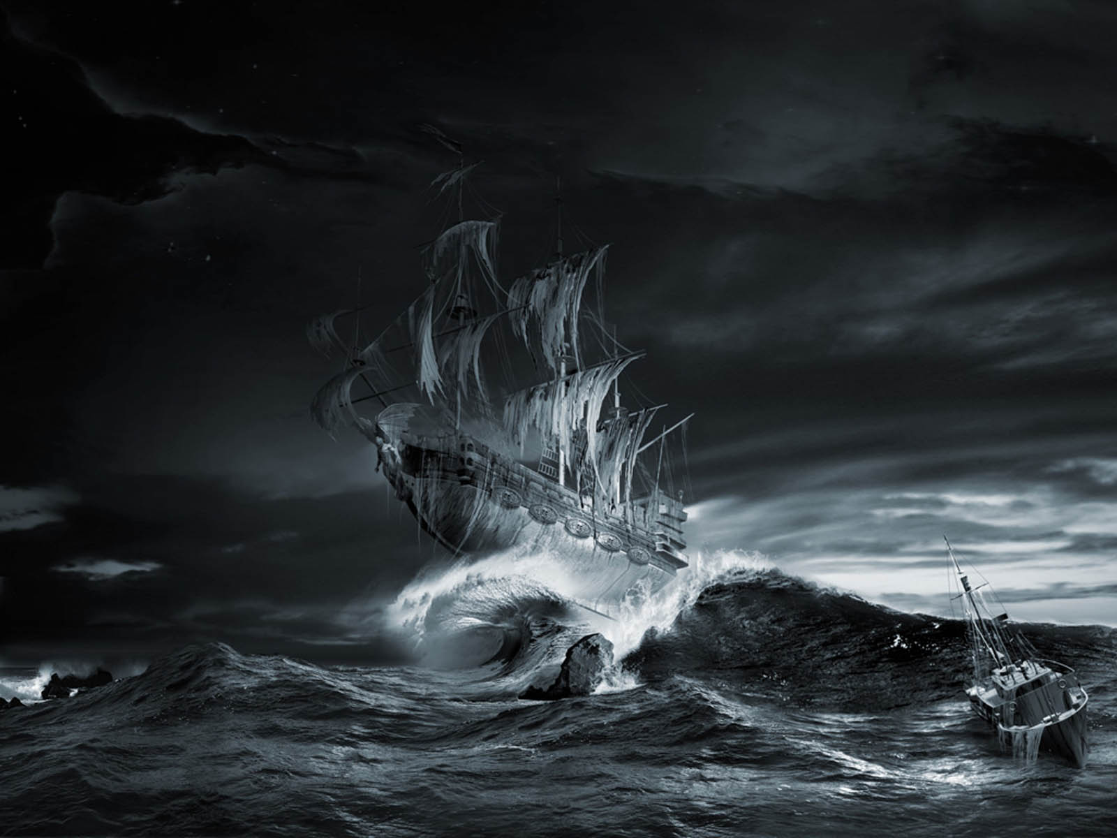 the Ghost Ship Wallpapers Ghost Ship Desktop Wallpapers Ghost 1600x1200