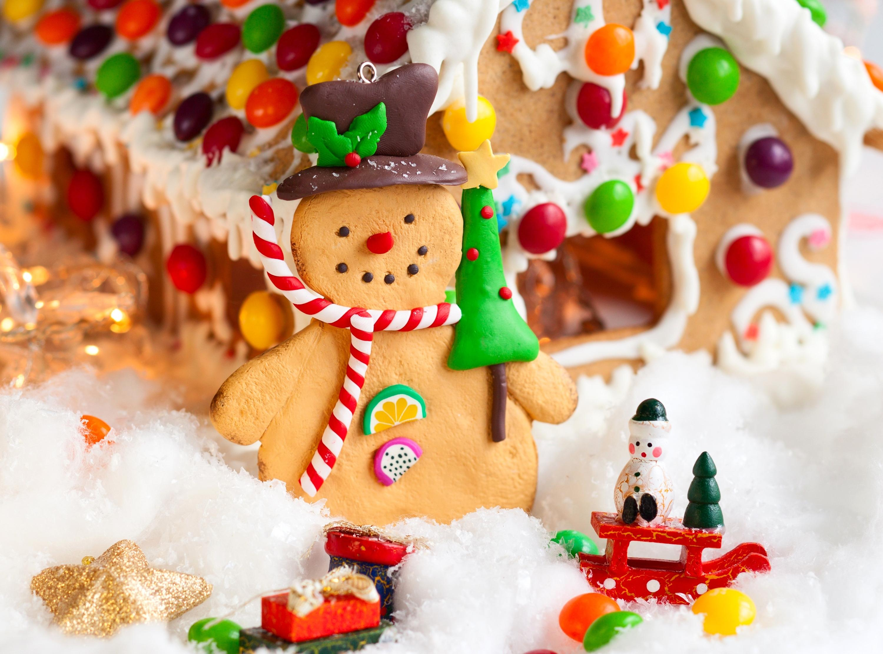 Baking Cookies Candy Holidays Christmas Food wallpaper 3000x2222