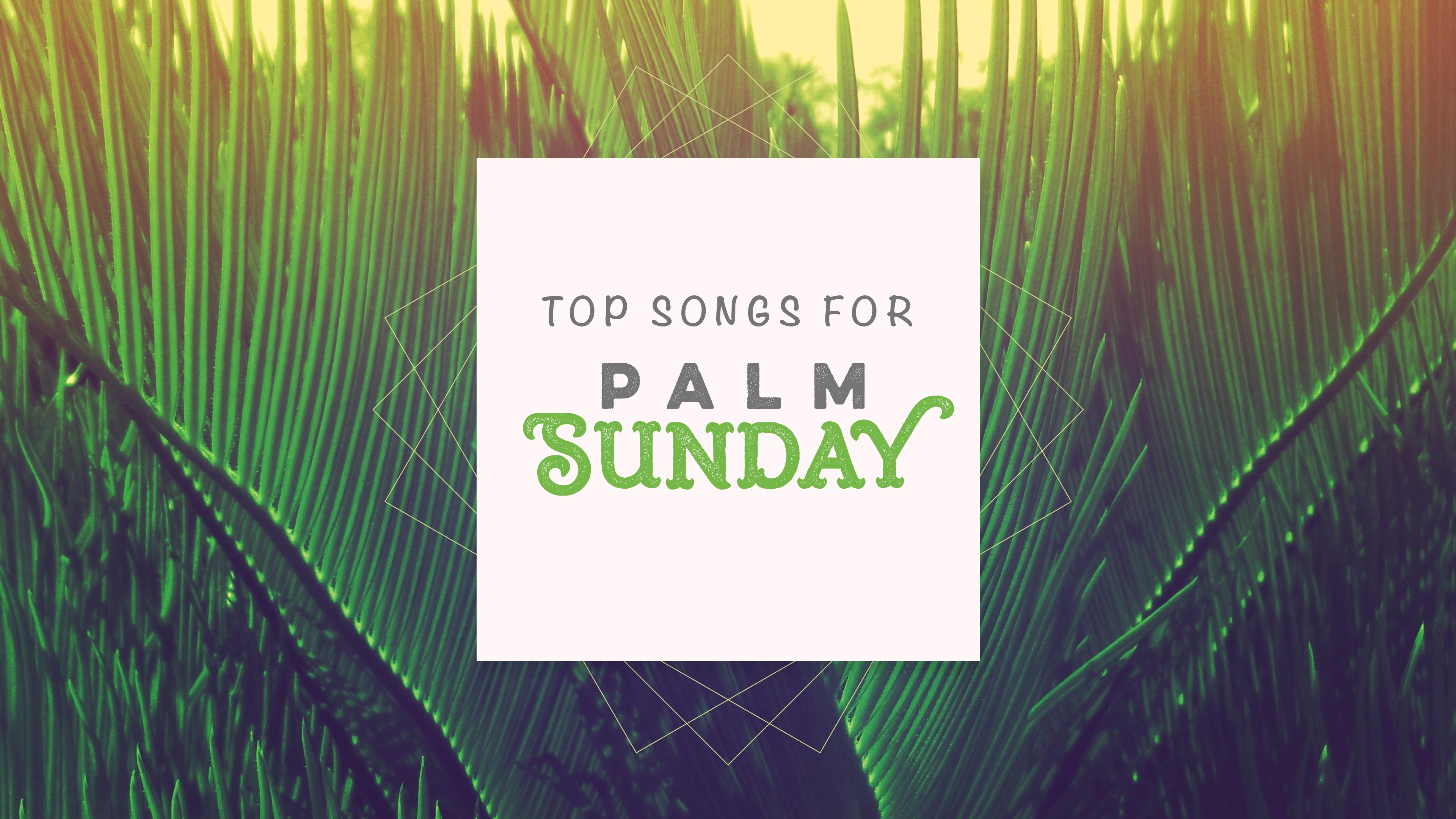 Top Songs for Palm Sunday Services Sharefaith Magazine 3840x2160