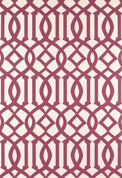 Regal Trellis   A Sophisticated LatticeTrellis Wallpaper Screen [LAT 395x575