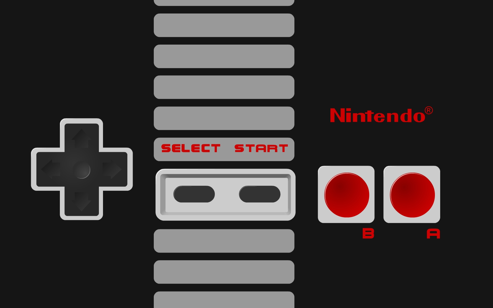 NES Controller Wallpaper by Doctor G 1680x1050