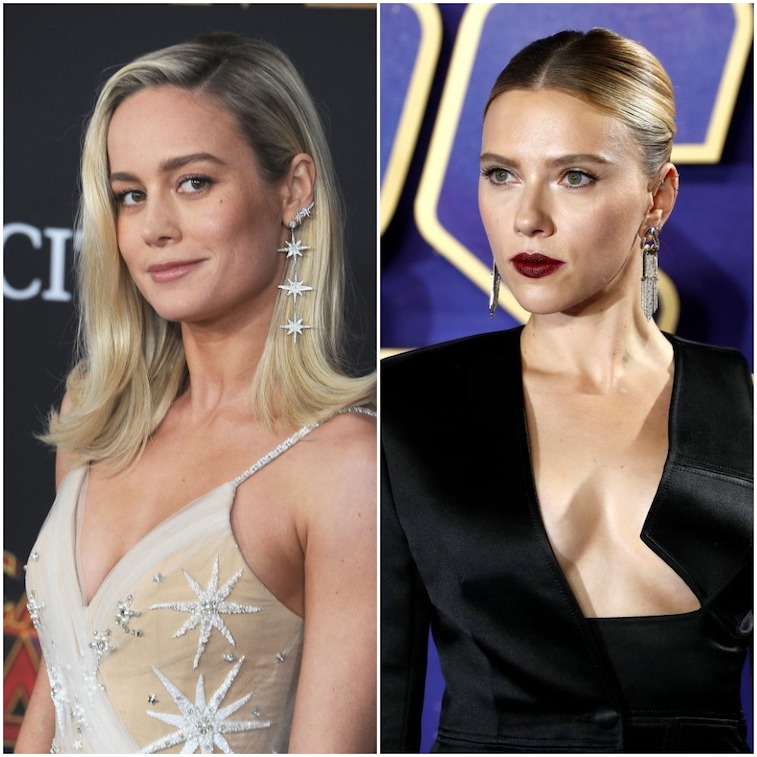 Brie Larson and Scarlett Johansson Which Marvel Actress Do Fans 757x757