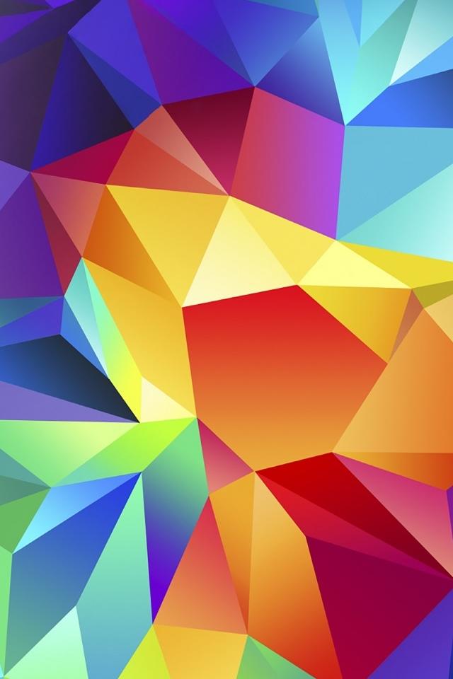 Gradient Multicolor iPhone 4s Wallpaper Download | iPhone Wallpapers ...