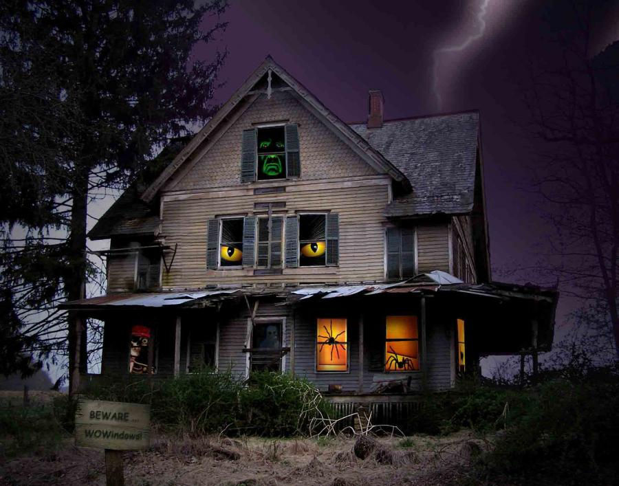 Haunted Houses Funny Pictures 900x707
