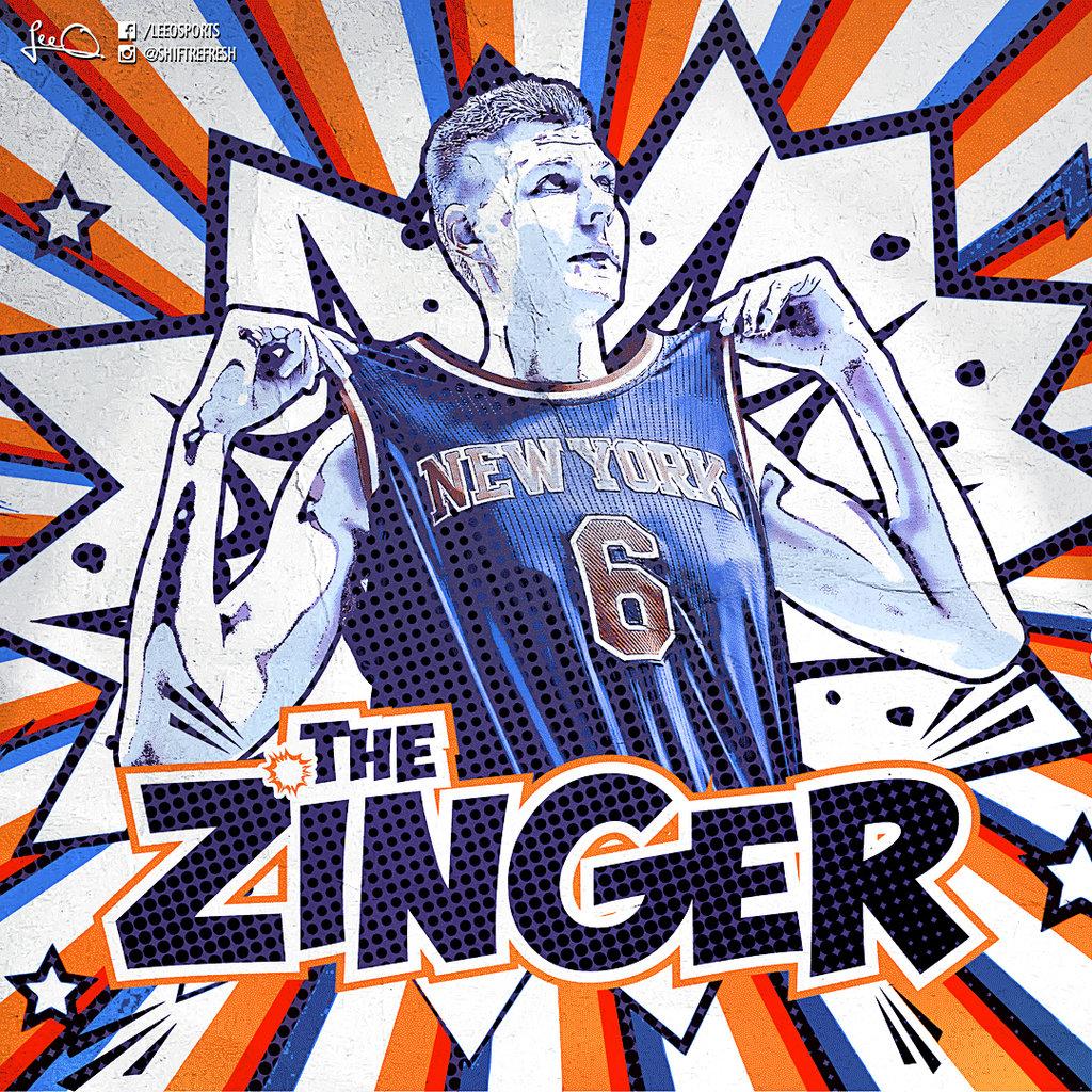 Kristaps Porzingis   The Zinger by skythlee 1024x1024