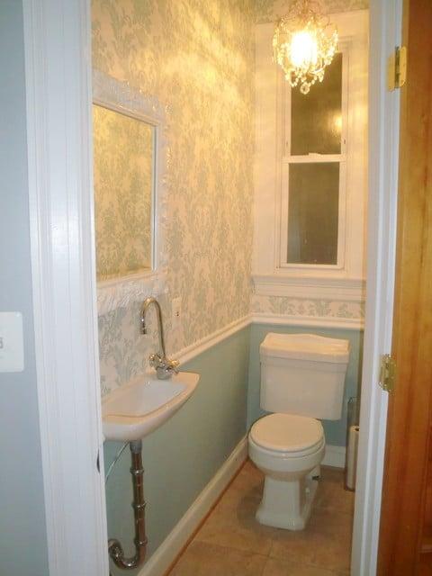 tiny powder room   Powder Room   dc metro 480x640