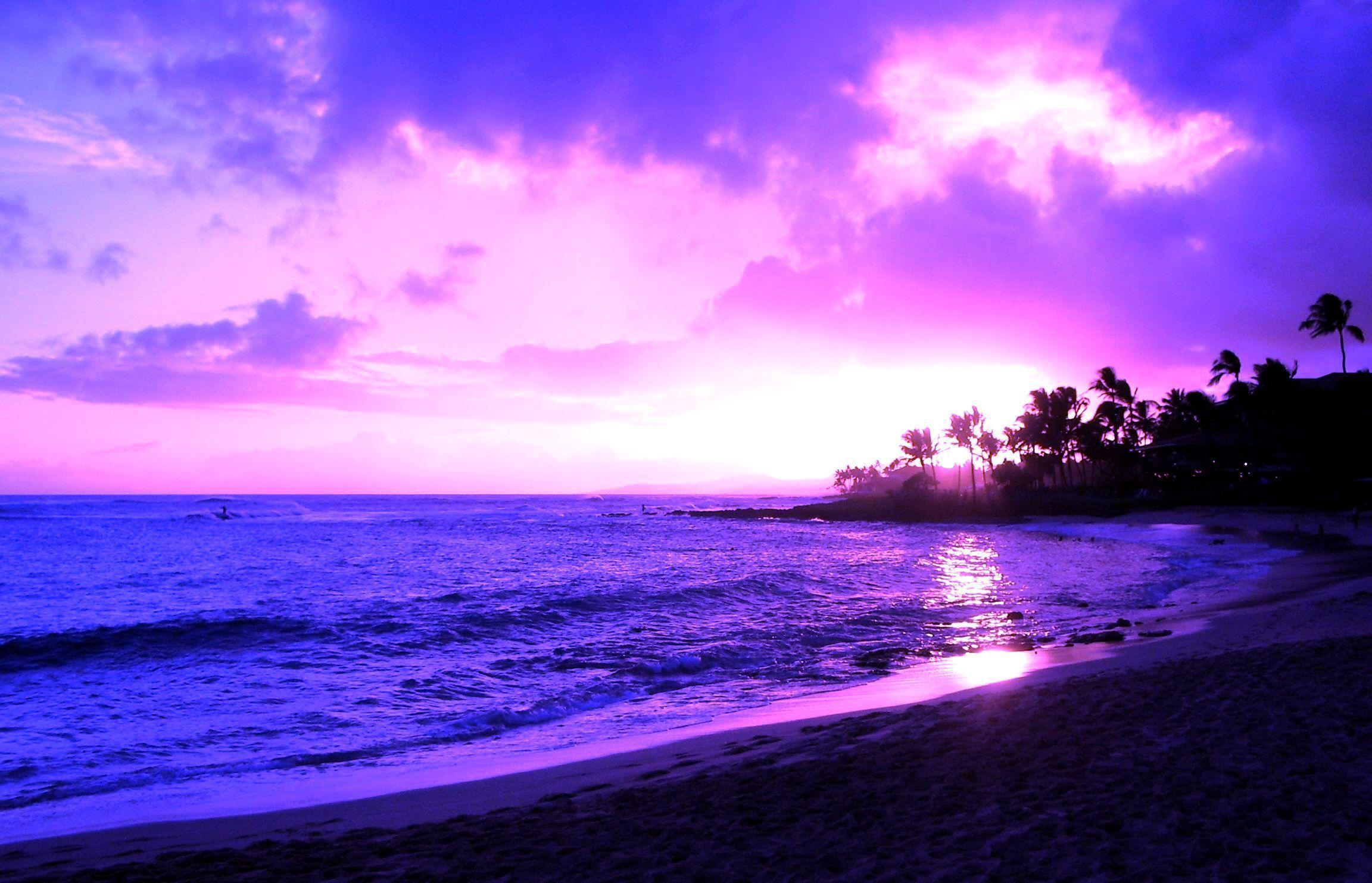 Hawaii Sunset Desktop Backgrounds Related Keywords 2304x1482