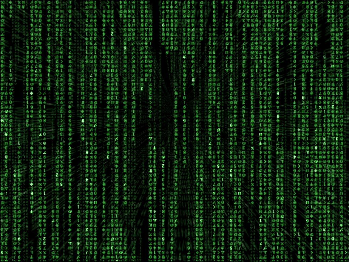 Matrix Code by  binary 1152x864