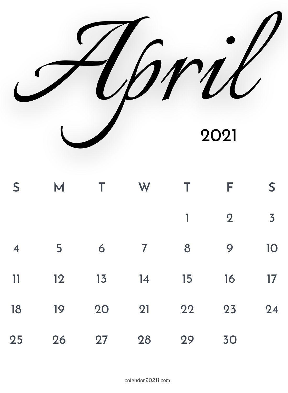 April 2021 Calendar Wallpapers   Top April 2021 Calendar 1100x1500