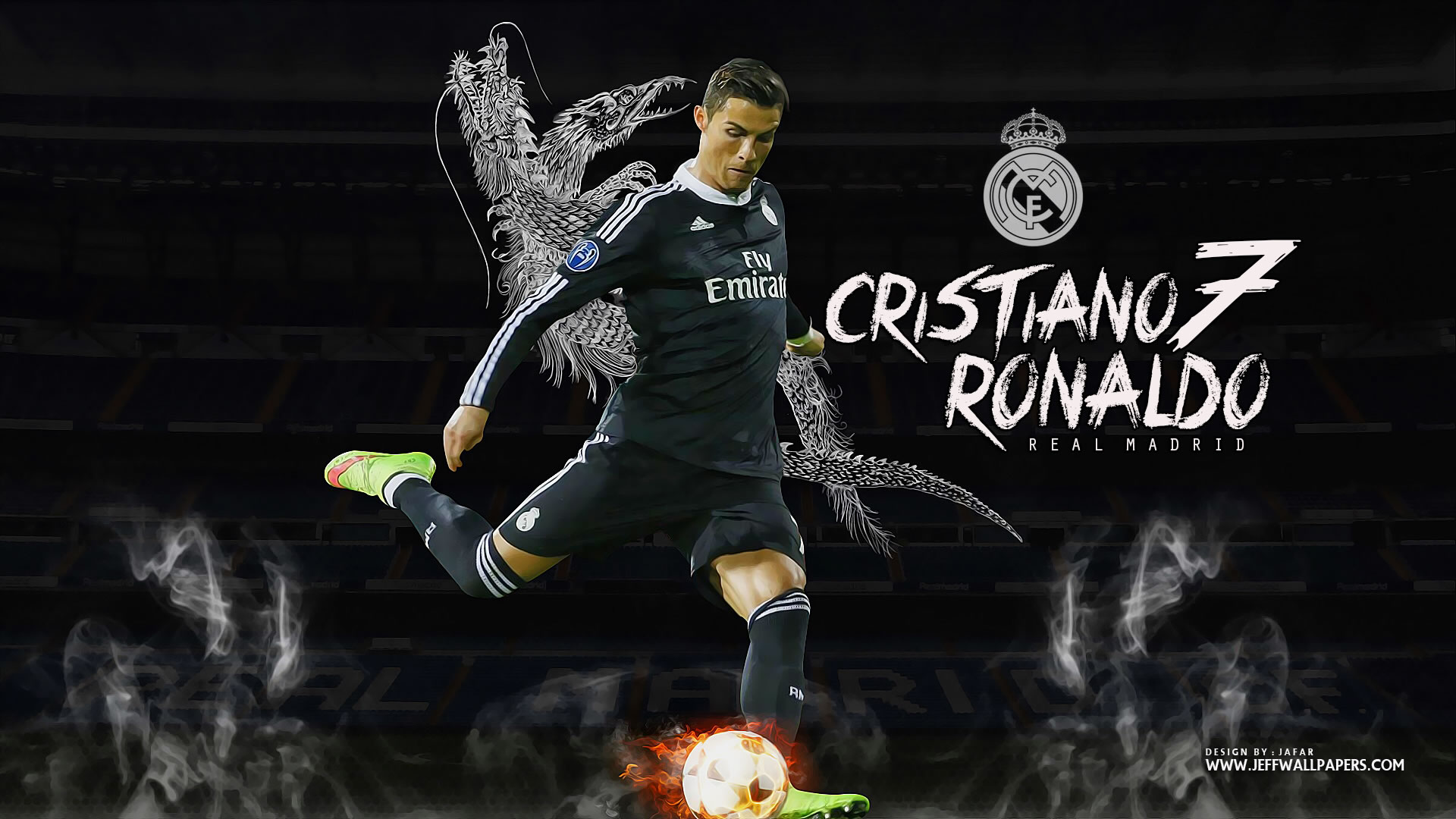 Free Download Cristiano Ronaldo Real Madrid Wallpaper By