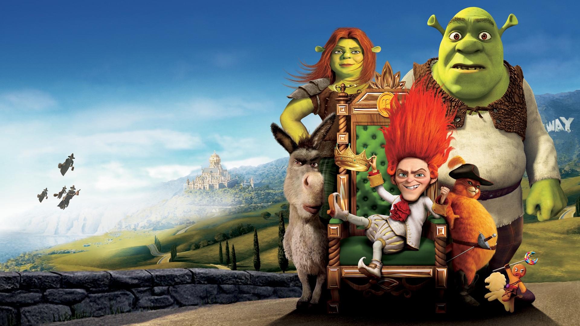 Shrek Wallpaper HD - WallpaperSafari