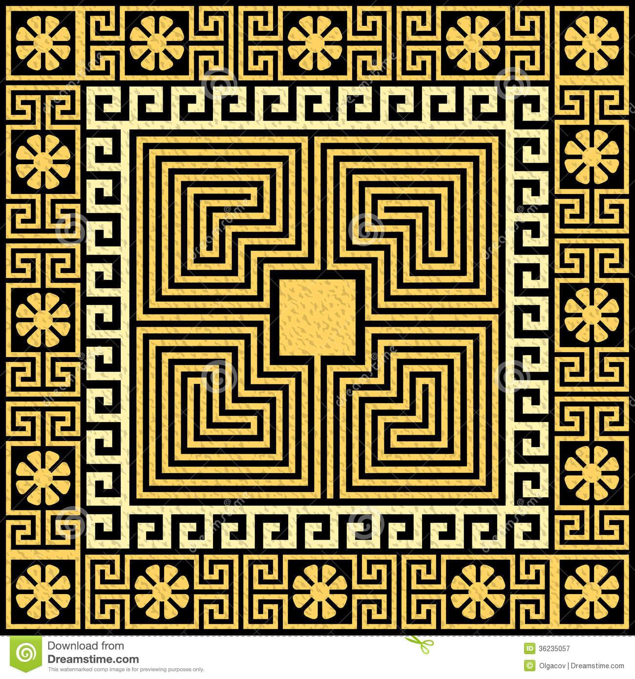 Greek Key Background Gold greek ornament me 1300x1390