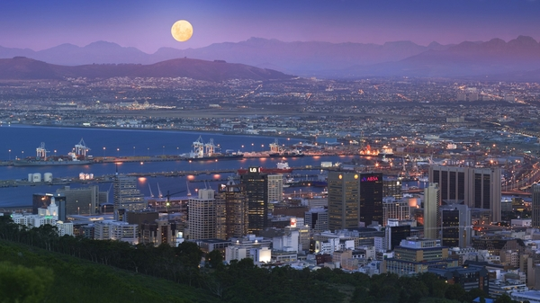 AfricaCape Town south africa cape town full moon 1920x1080 wallpaper 600x337