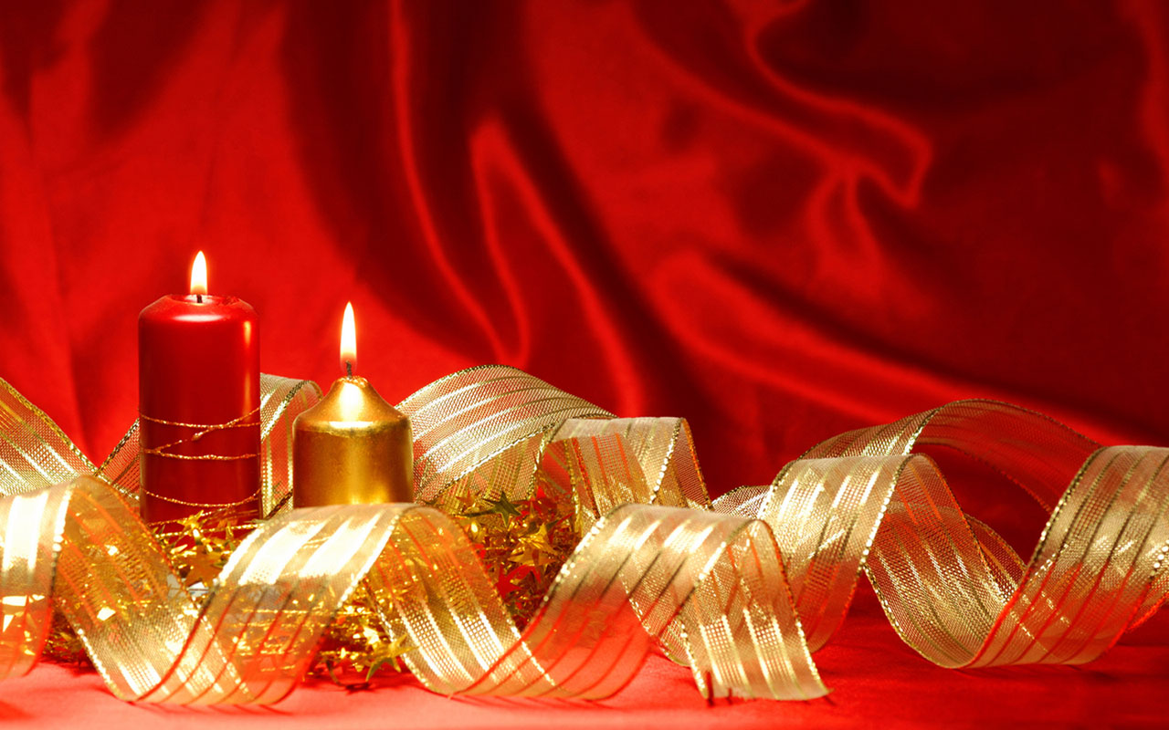 Christmas candles HD wallpaper 13 Holiday Wallpapers 1280x800
