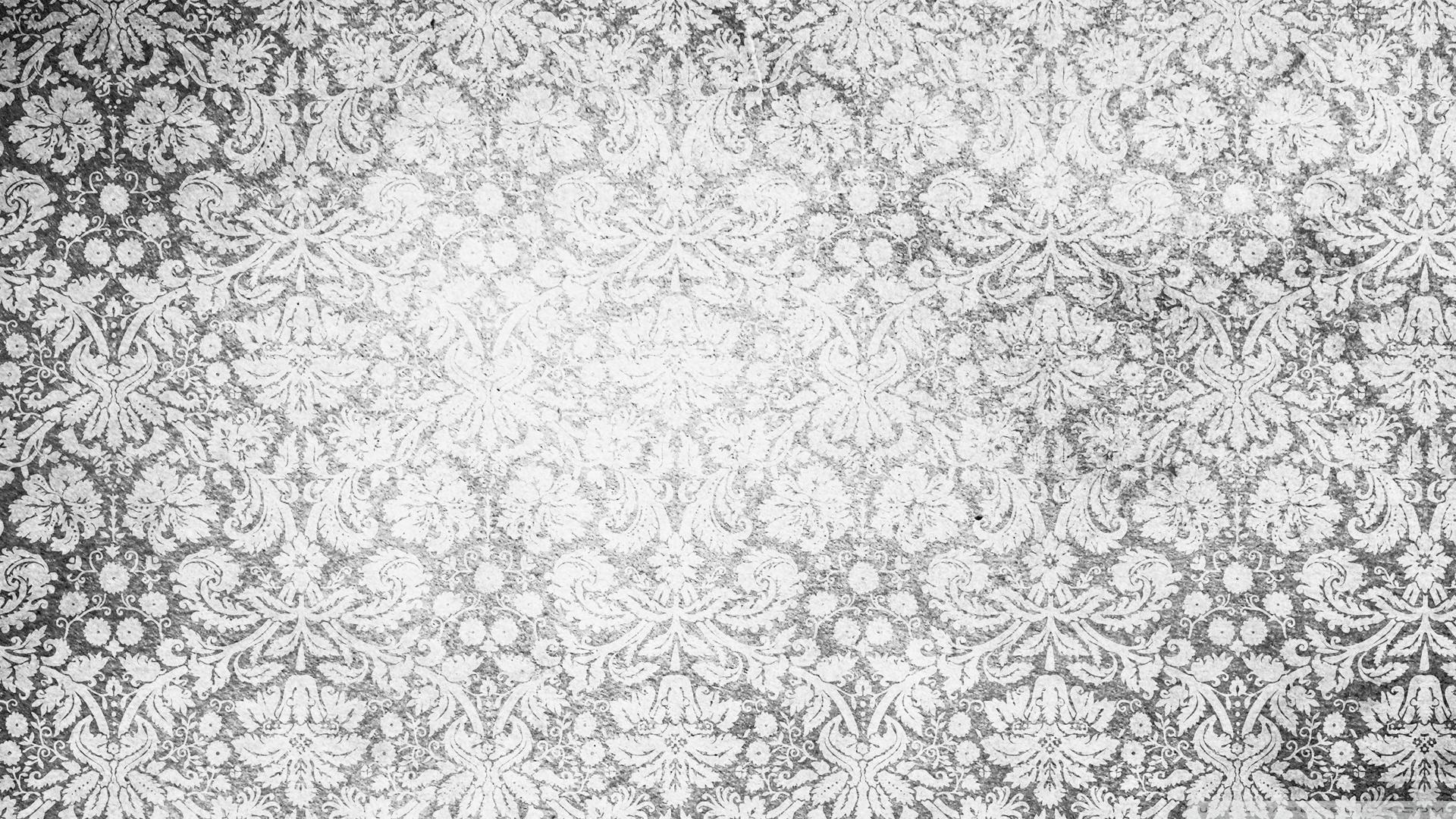 Free Download Vintage Pattern Black And White Wallpaper