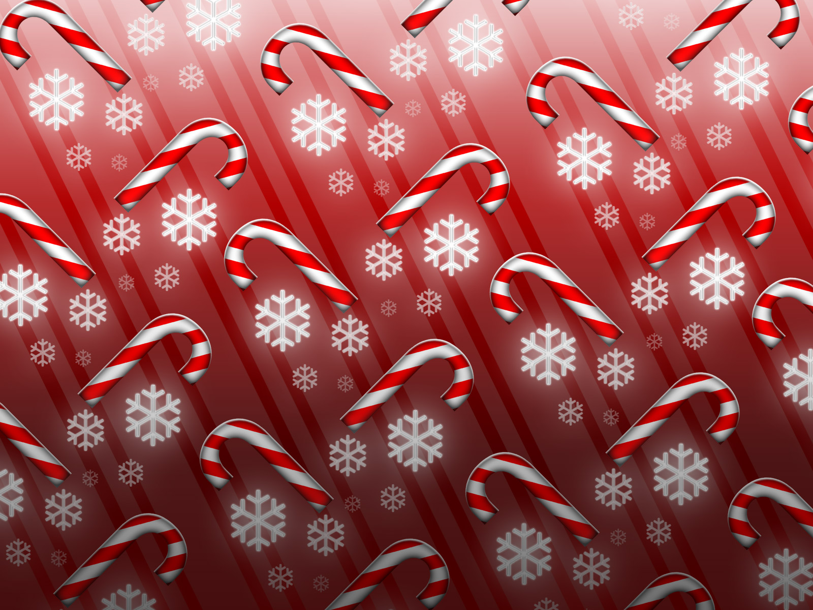 Candy Cane Backgrounds 1600x1200