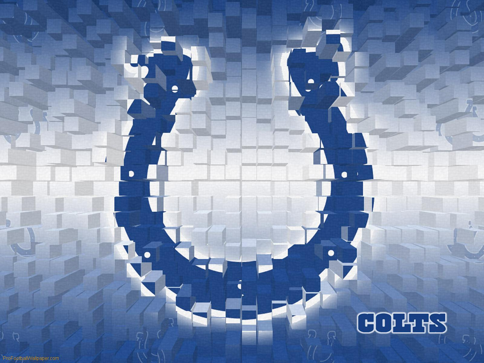 Download Indianapolis Colts wallpaper Indianapolis Colts 3D 1600x1200