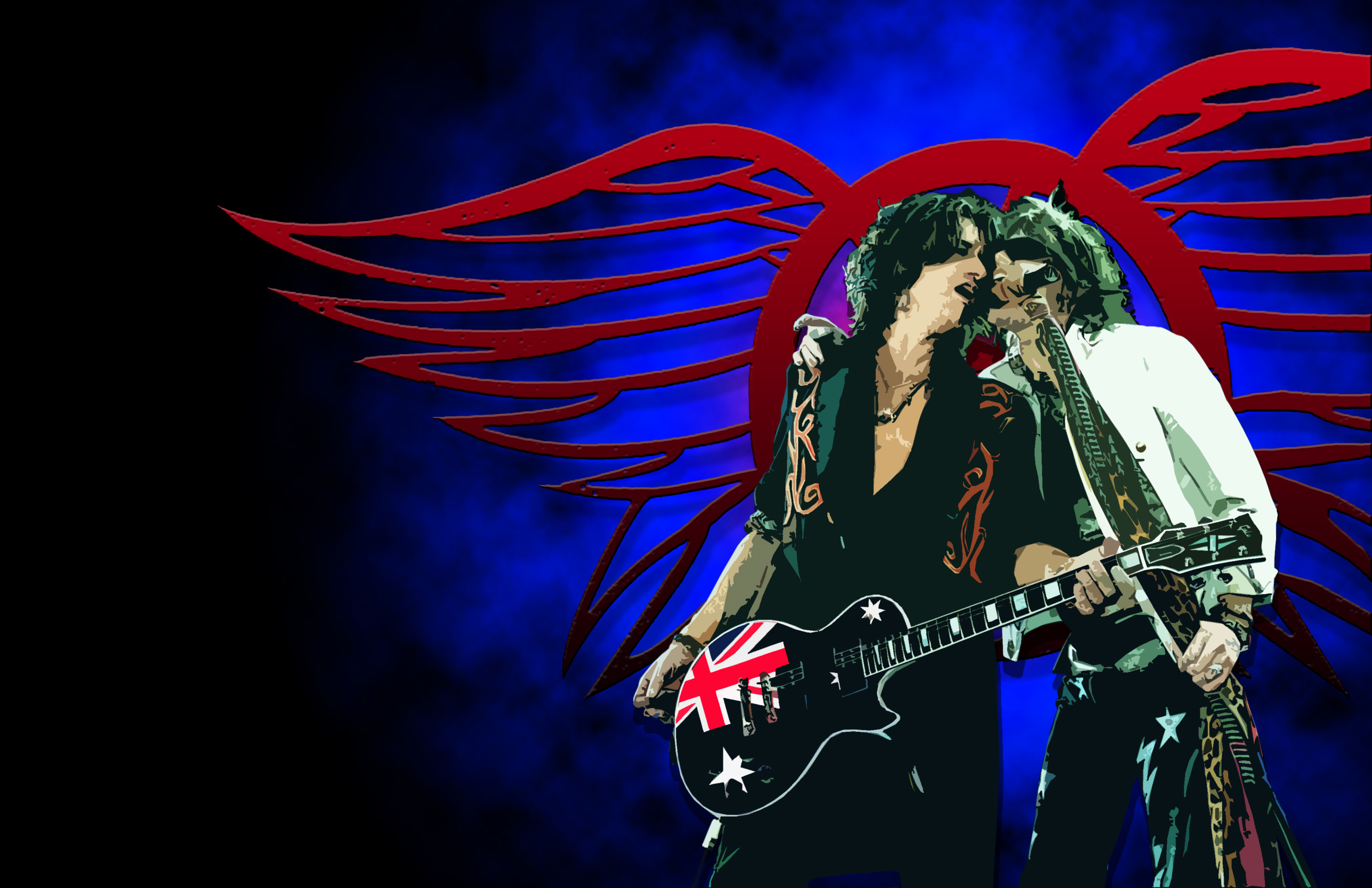 Aerosmith Wallpaper 3000x1941