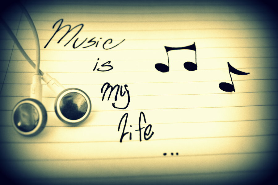 Music Is My Life Wallpaper - WallpaperSafari - 74.4KB