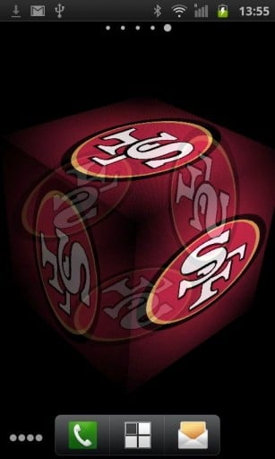 49ers Logo Live Wall App for Android 307x512