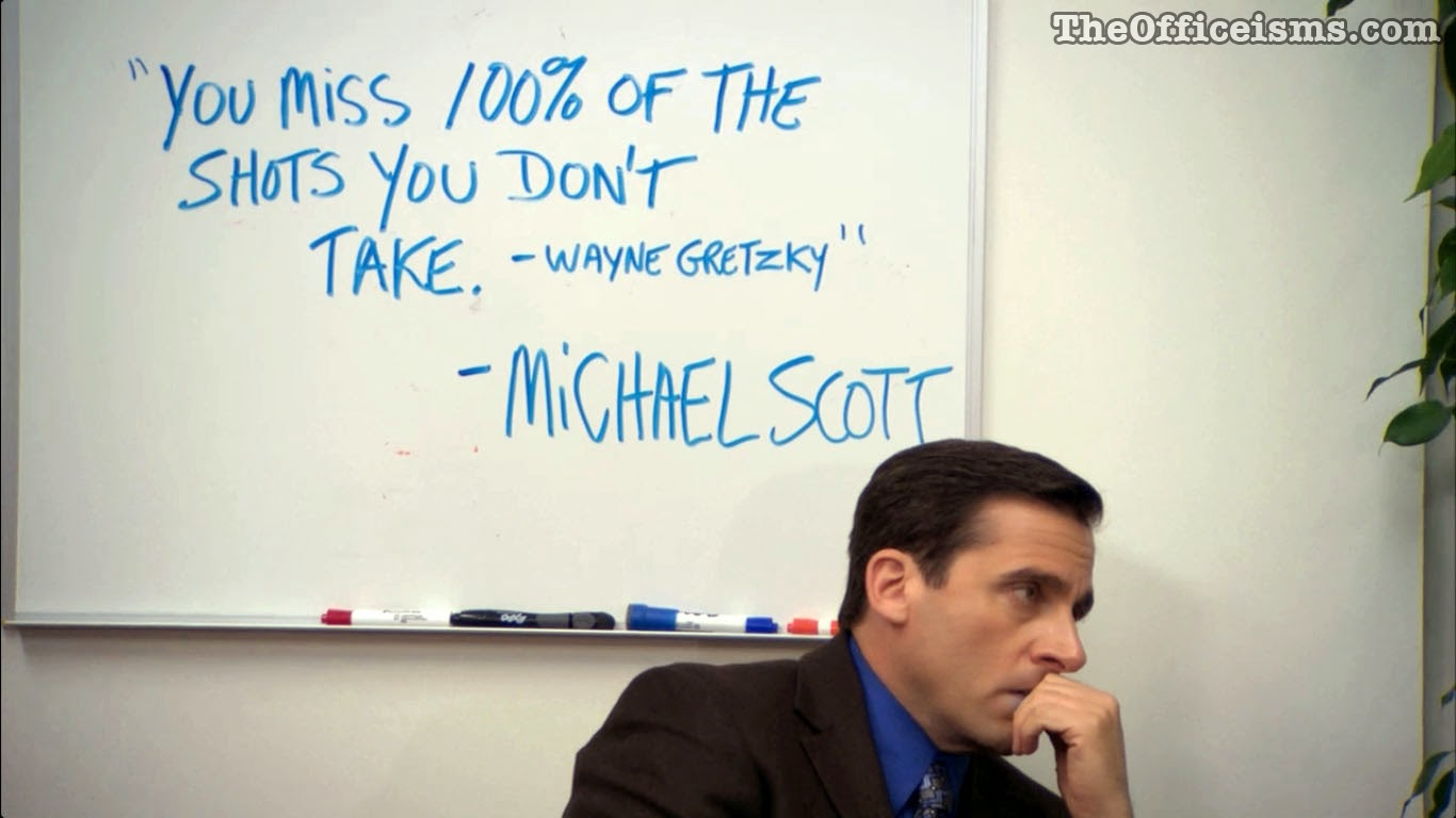 Free Download Michael Scott Wayne Gretzky Quote Color Wallpaper The Office 1366x768 For Your Desktop Mobile Tablet Explore 48 The Office Quotes Wallpaper The Office Quotes Wallpaper The Office