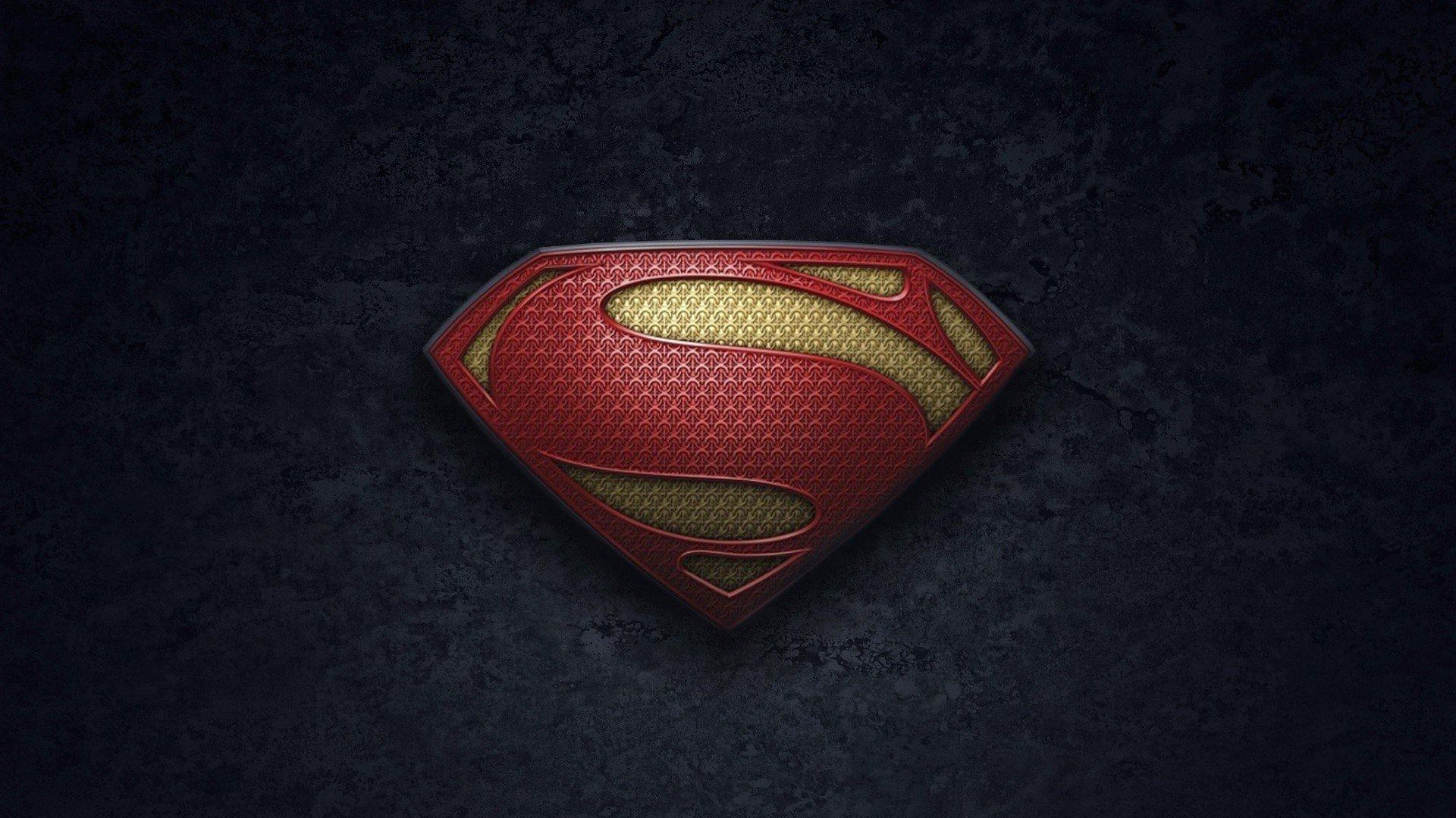 Superman Logo Man Of Steel 1920x1080