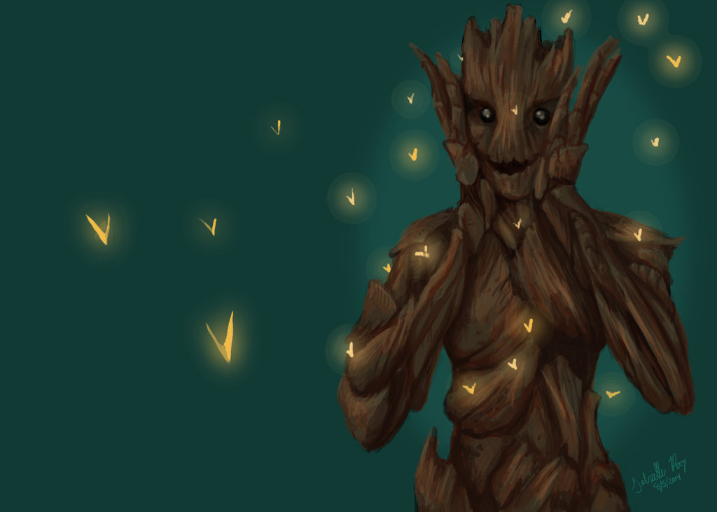 am Groot Wallpaper sized by Supersonic Gabi supersonic gabi 1024x731