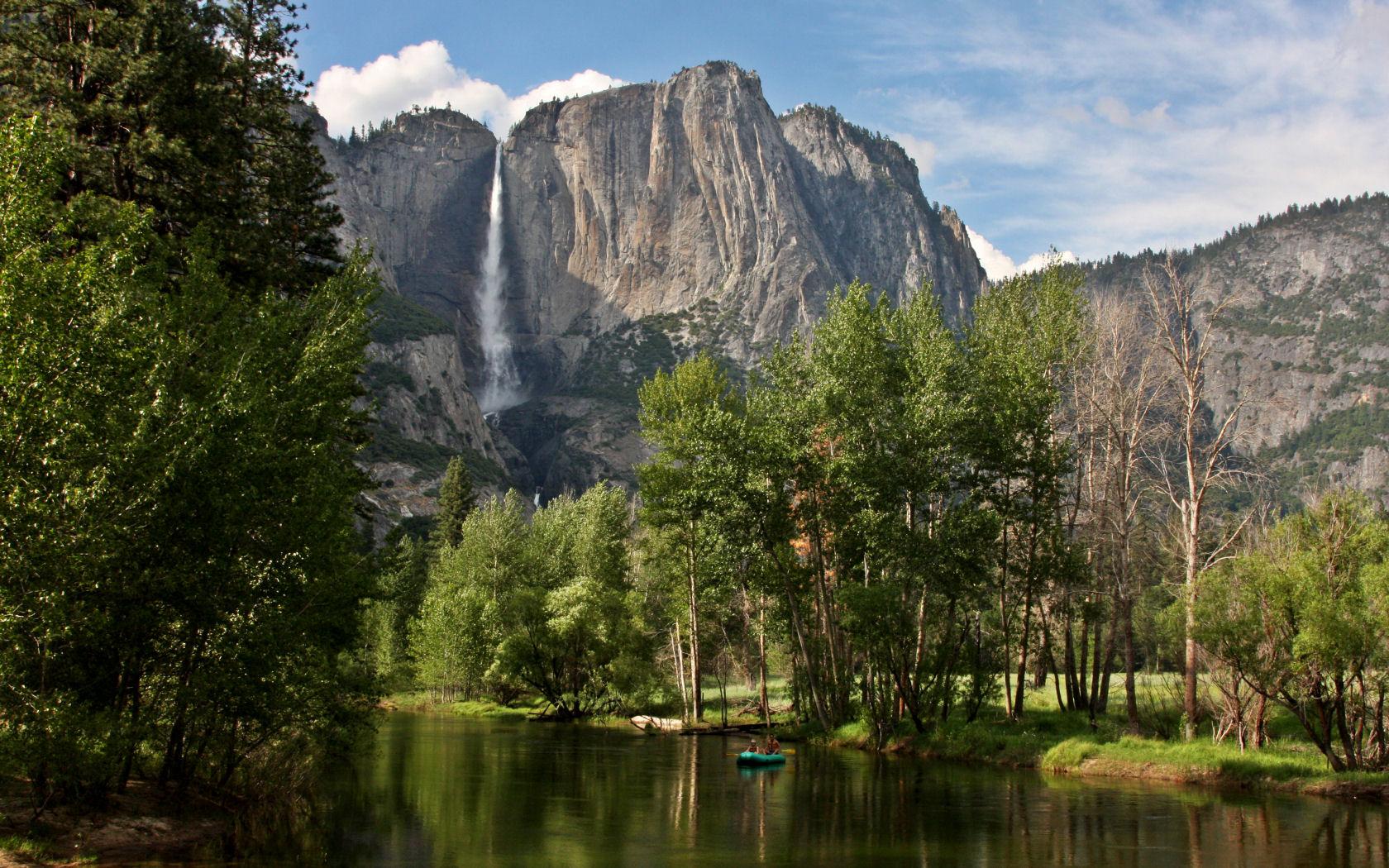 Yosemite Wallpaper   The Swinging Bridge 1680x1050