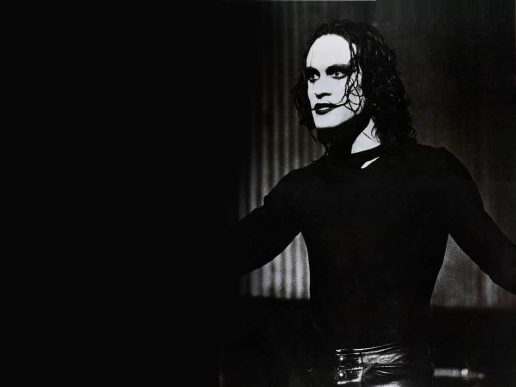 The Crow   Brandon Lee Wallpaper 16396493 1024x768