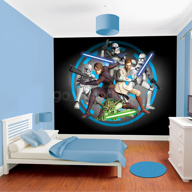 46 Star Wars Bedroom Wallpaper On Wallpapersafari