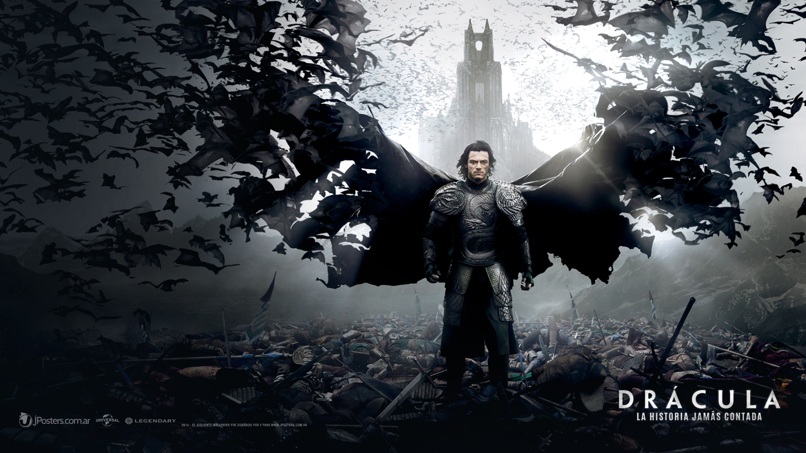 Dracula Untold Retina Movie Wallpaper: Dracula Untold Wallpaper